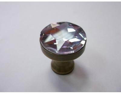 Üveg Crystal - halvány lila