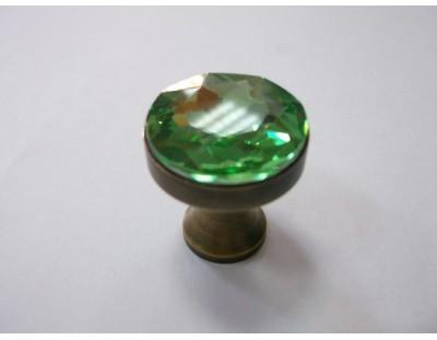 Üveg Crystal - zöld
