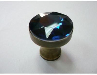 Üveg Crystal - sötét kék