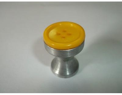 Gomb - nap sárga