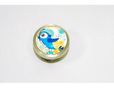 madárka - kék